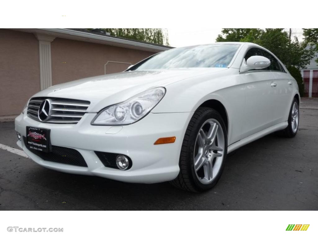 2007 arctic white mercedes benz cls 550 49300037 for 2007 mercedes benz cl 550