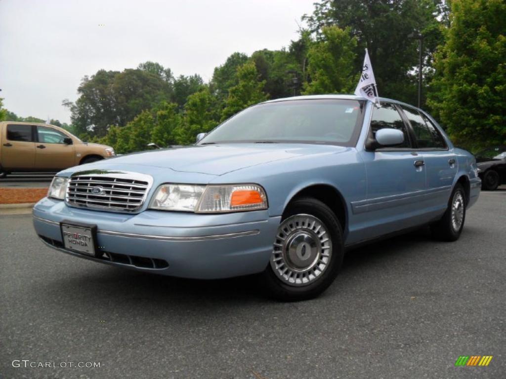 Light Blue Metallic Ford Crown Victoria GTCarLot - 2001 crown victoria