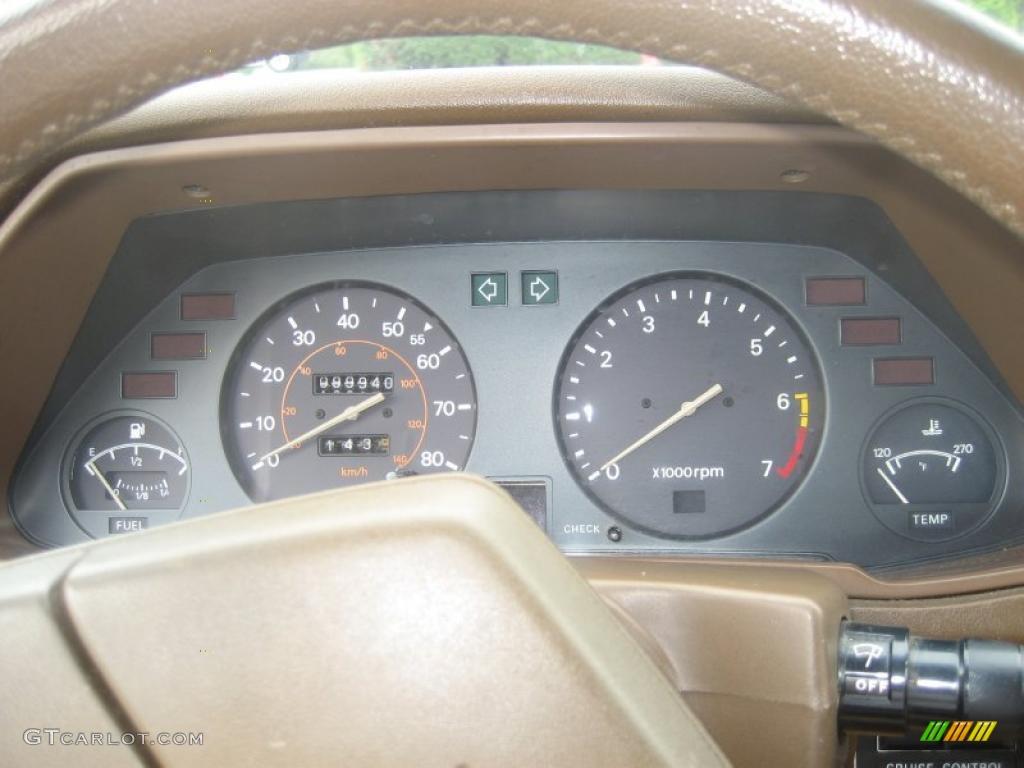 1980 Datsun 280ZX Fastback Gauges Photo #49357237 ...