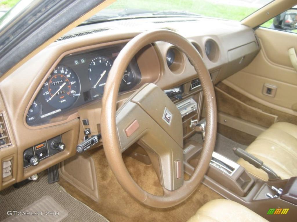 beige interior 1980 datsun 280zx fastback photo 49357300