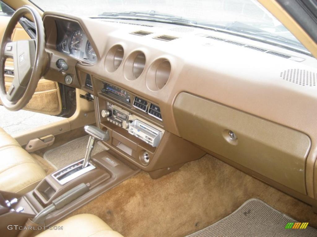 1980 datsun 280zx fastback interior photo 49357309