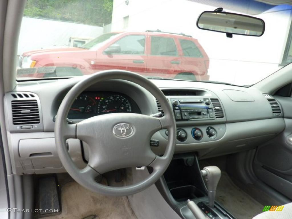 Stone Interior 2003 Toyota Camry Le V6 Photo 49358947