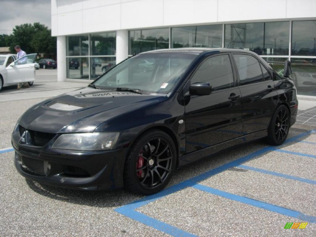 Tarmac Black 2003 Mitsubishi Lancer Evolution VIII ...