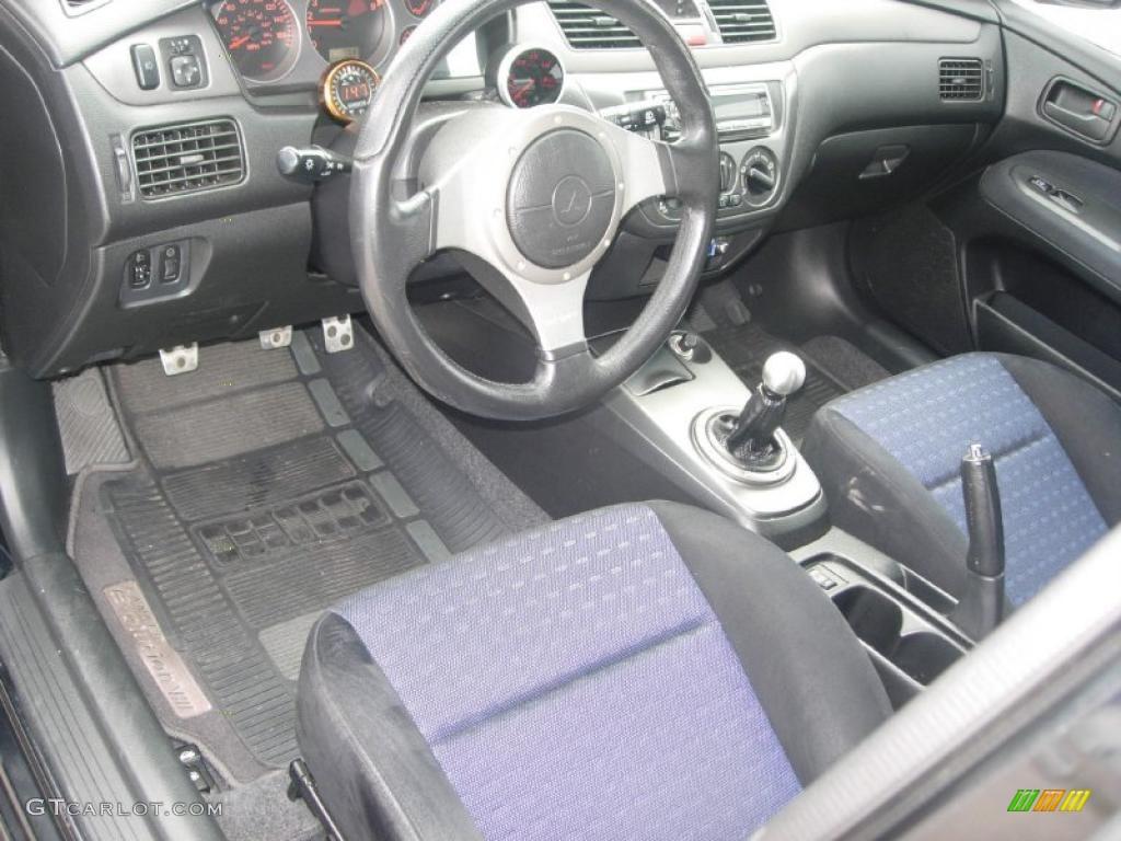 Black Interior 2003 Mitsubishi Lancer Evolution Viii Photo 49363826