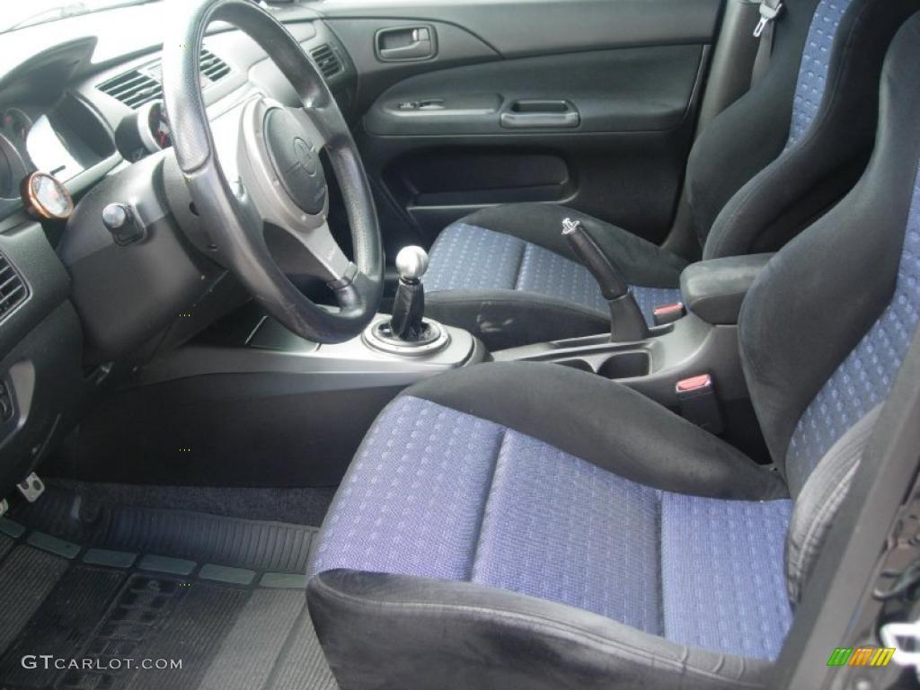 Black Interior 2003 Mitsubishi Lancer Evolution Viii Photo 49363846