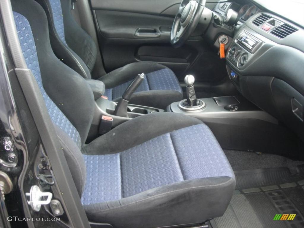 Black Interior 2003 Mitsubishi Lancer Evolution Viii Photo 49363886