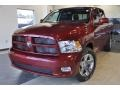 2011 Deep Cherry Red Crystal Pearl Dodge Ram 1500 Sport Crew Cab  photo #2