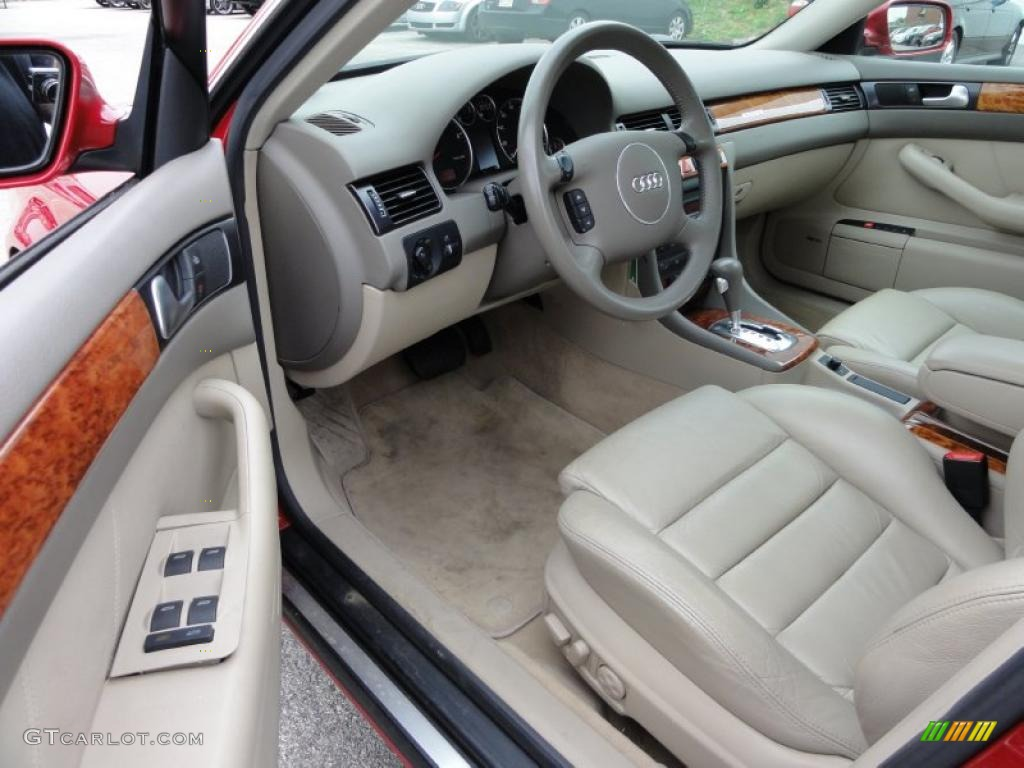 beige interior 2002 audi a6 2 7t quattro sedan photo. Black Bedroom Furniture Sets. Home Design Ideas