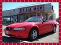 2000 Performance Red Ford Mustang GT Convertible  photo #1