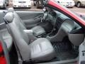 2000 Performance Red Ford Mustang GT Convertible  photo #19
