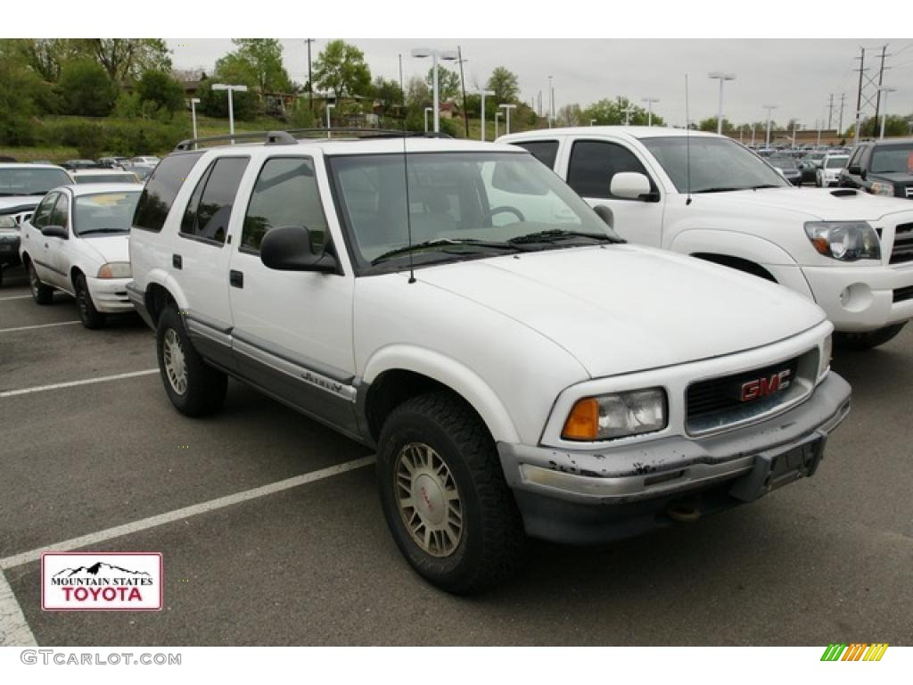 1997 Olympic White Gmc Jimmy Sle 4x4 49387683 Gtcarlot Com Car