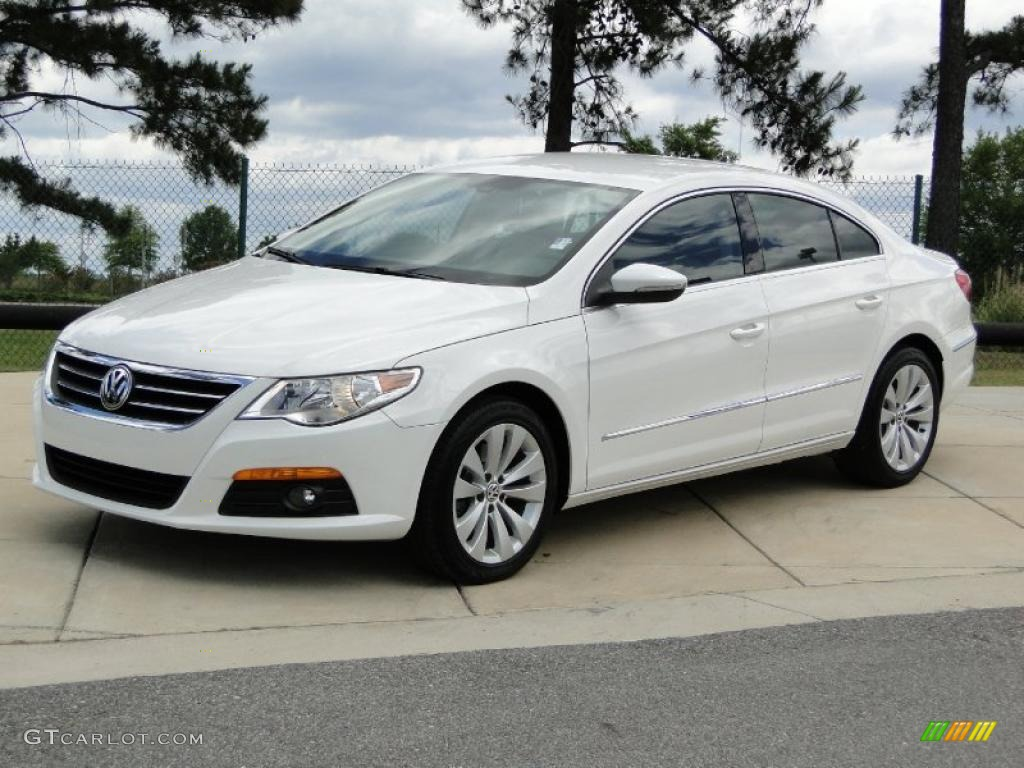 candy white 2009 volkswagen cc sport exterior photo. Black Bedroom Furniture Sets. Home Design Ideas