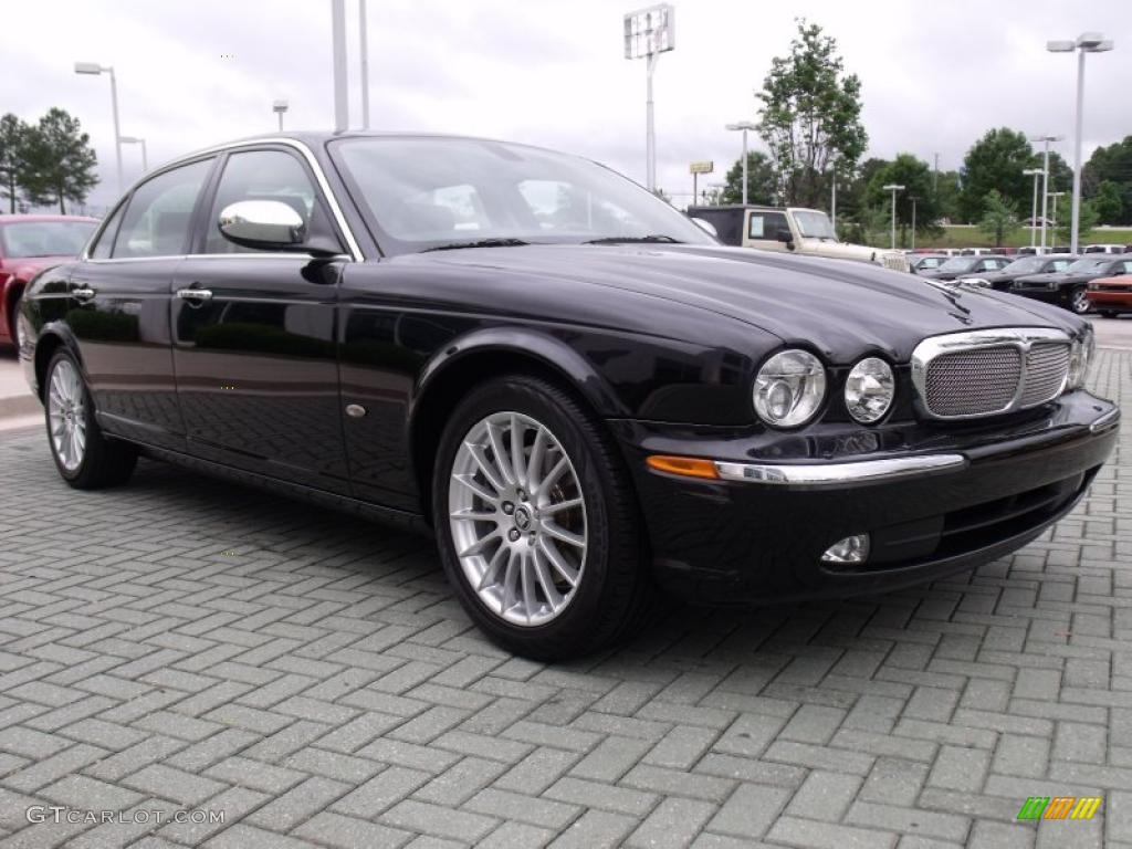 Ebony black 2007 jaguar xj xj8 l exterior photo 49399583 for Jaguar xj exterior