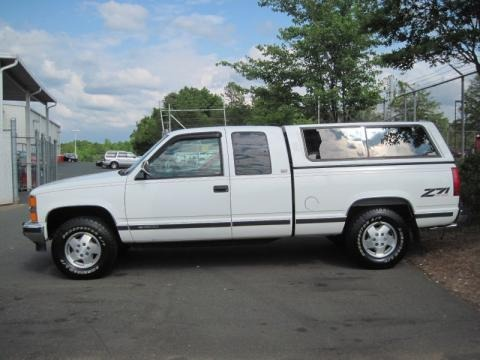 1994 Chevrolet C/K K1500 Z71 Extended Cab 4x4 Data, Info and Specs