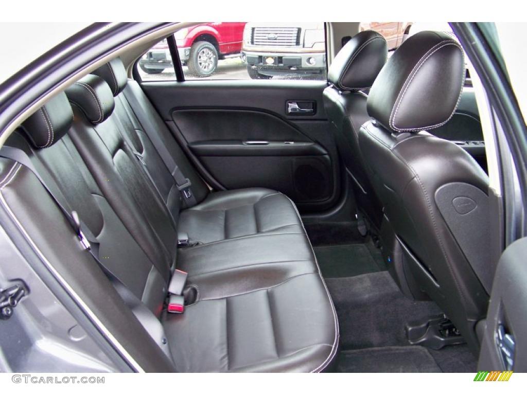Charcoal Black Interior 2010 Ford Fusion Sel V6 Awd Photo