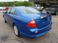 2011 Blue Flame Metallic Ford Fusion SEL V6  photo #2