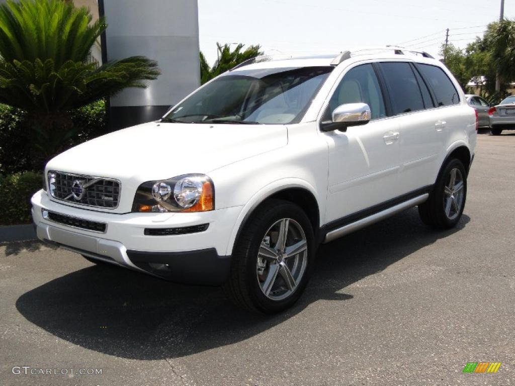 2011 ice white volvo xc90 3 2 r design awd 49390744. Black Bedroom Furniture Sets. Home Design Ideas