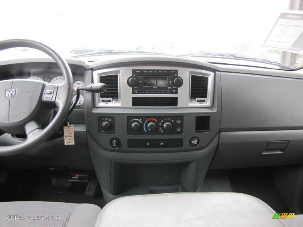 2008 Dodge Ram 3500 Slt Mega Cab 4x4 Medium Slate Gray Dashboard Photo 49409115