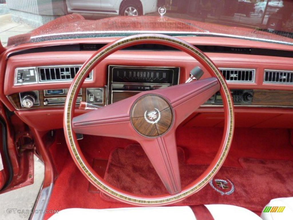 1976 Cadillac Eldorado Convertible Steering Wheel Photos
