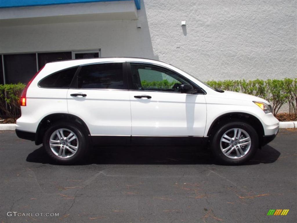 Taffeta White 2011 Honda Cr V Ex Exterior Photo 49421638