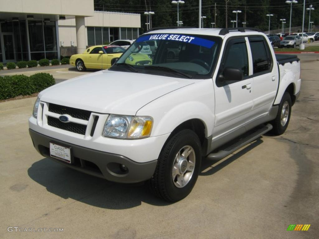 2003 Oxford White Ford Explorer Sport Trac XLT 49418451 Car