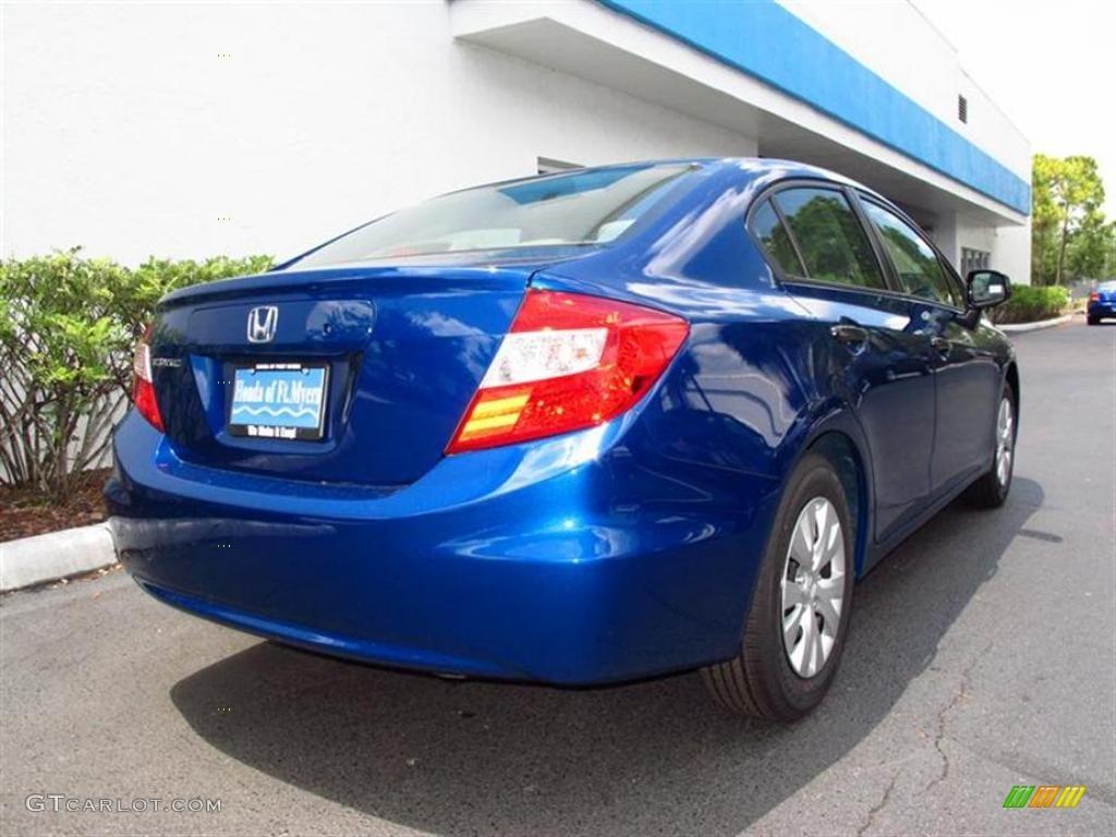 2012 dyno blue pearl honda civic dx sedan 49418142 photo for 2012 honda civic dx