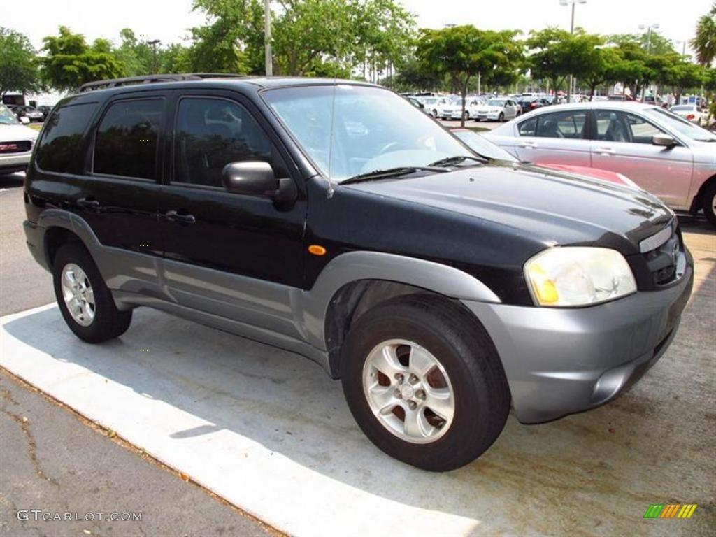 2002 Black Mazda Tribute Es V6 49418150 Gtcarlot Com