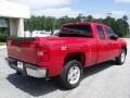 2009 Victory Red Chevrolet Silverado 1500 LT Extended Cab 4x4  photo #7