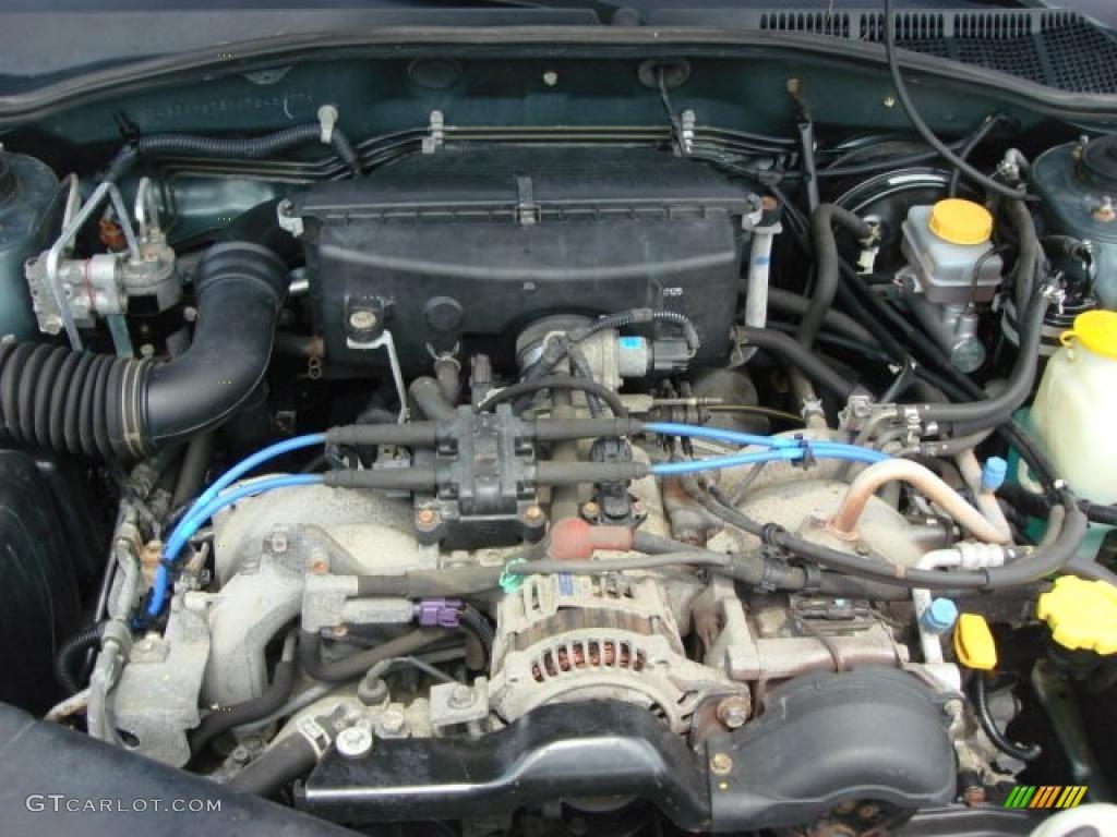 2000 Subaru Outback Wagon Engine Photos