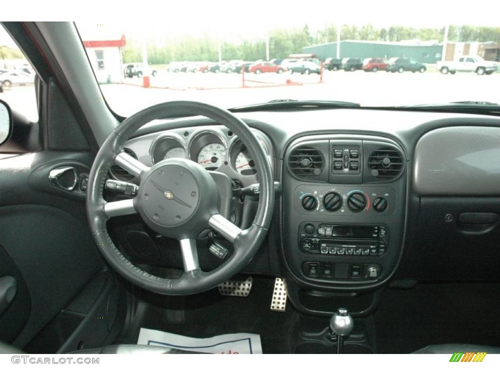 2004 chrysler pt cruiser gt dark slate gray dashboard. Black Bedroom Furniture Sets. Home Design Ideas