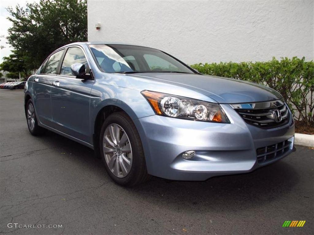 2011 celestial blue metallic honda accord ex l v6 sedan for Honda accord ex l v6