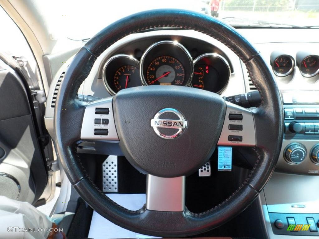 2006 nissan altima 3 5 se r steering wheel photos. Black Bedroom Furniture Sets. Home Design Ideas
