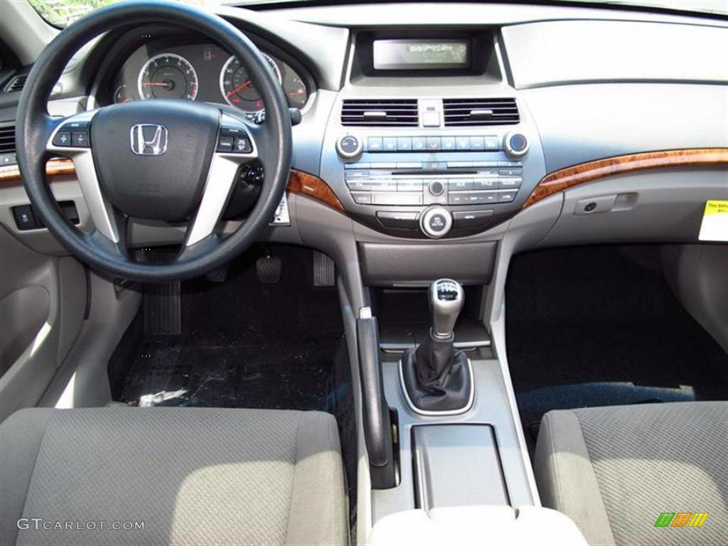 Gray Interior 2011 Honda Accord Ex Sedan Photo 49449448