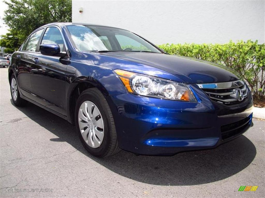 2011 Royal Blue Pearl Honda Accord Lx Sedan 49418072