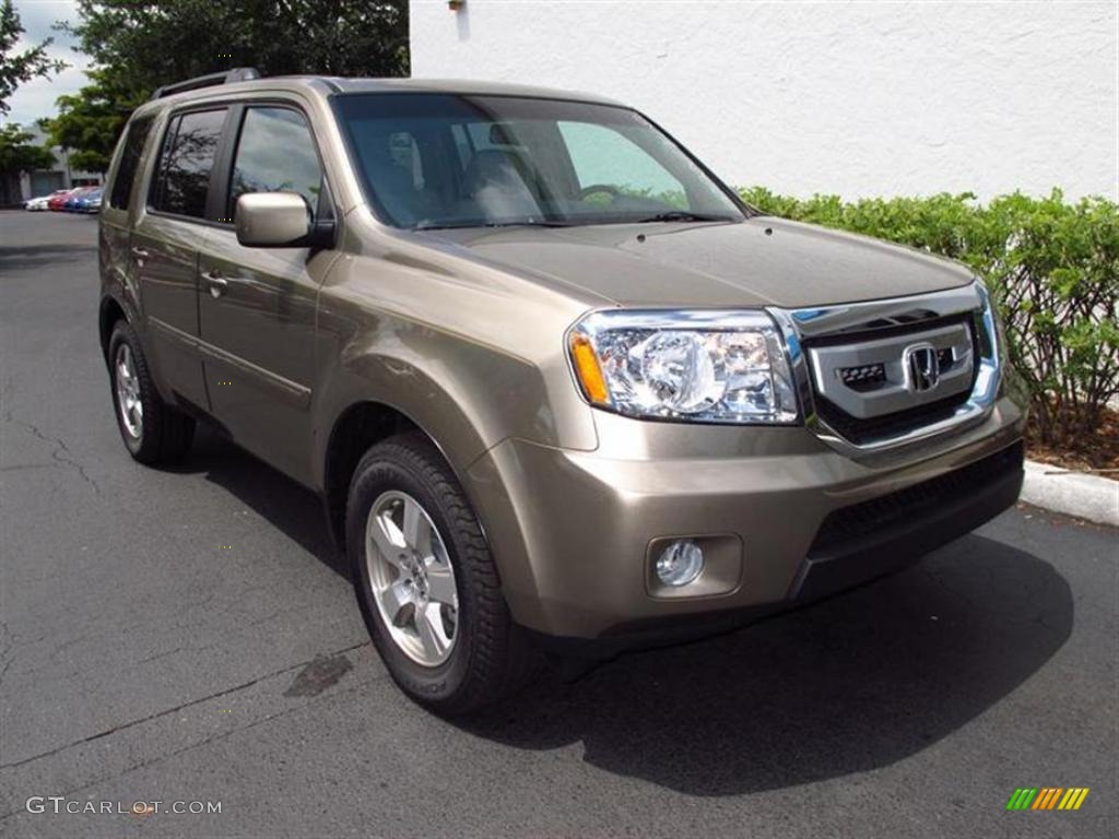 2011 Mocha Metallic Honda Pilot Ex L 49418077 Photo 6