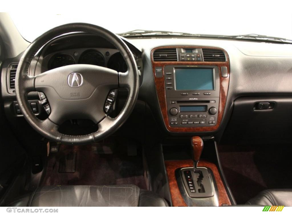 2005 Acura MDX Standard MDX Model Ebony Dashboard Photo #49458100 | GTCarLot.com