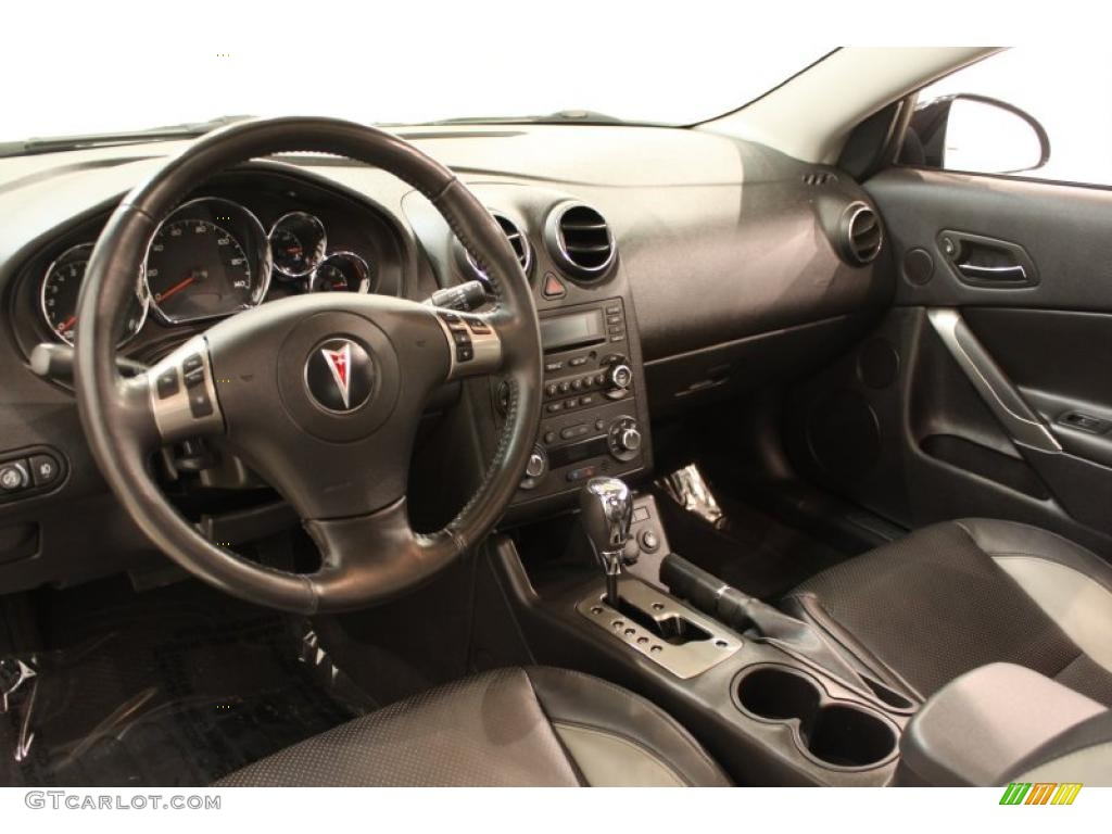 Ebony Black Interior 2008 Pontiac G6 Gxp Coupe Photo