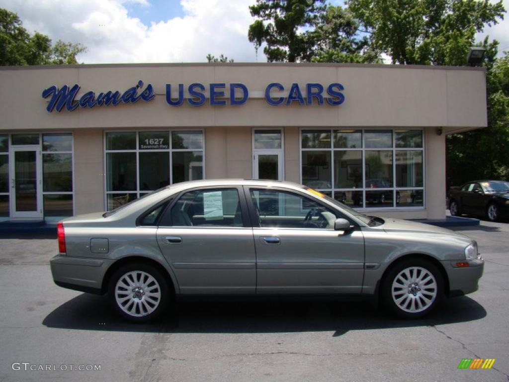 2006 S80 2.5T - Ash Gold Metallic / Taupe/Light Taupe photo #1