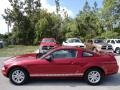2006 Redfire Metallic Ford Mustang V6 Premium Coupe  photo #2