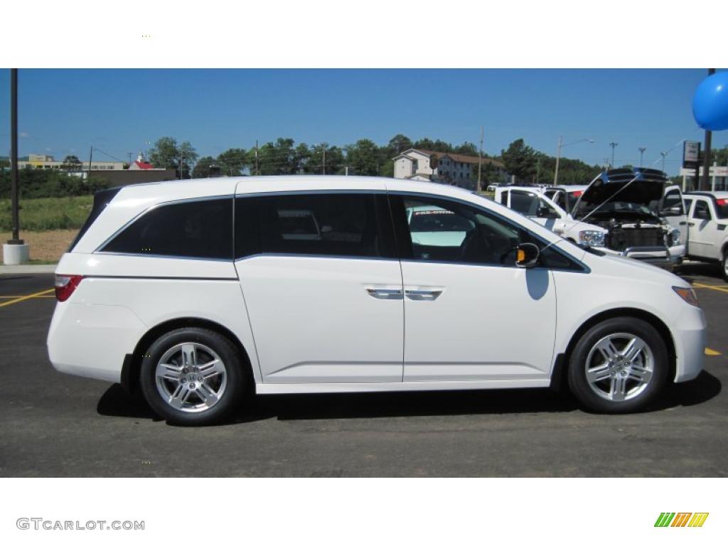 Taffeta White 2011 Honda Odyssey Touring Exterior Photo ...