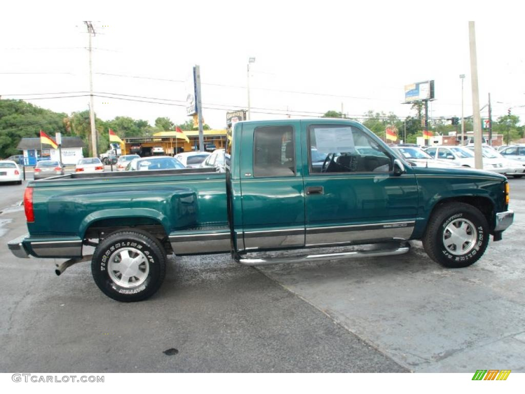 1998 laguna green metallic gmc sierra 1500 sle extended. Black Bedroom Furniture Sets. Home Design Ideas