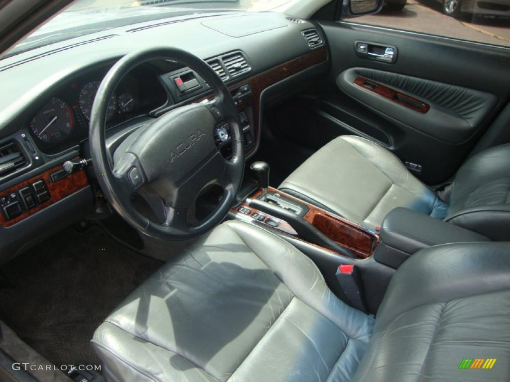 Black Interior 1998 Acura TL 3.2 Photo #49471536