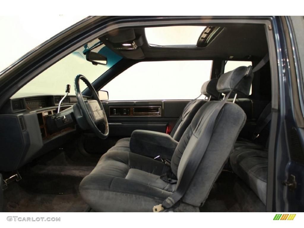 Black Interior 1993 Cadillac Deville Sedan Photo 49476663