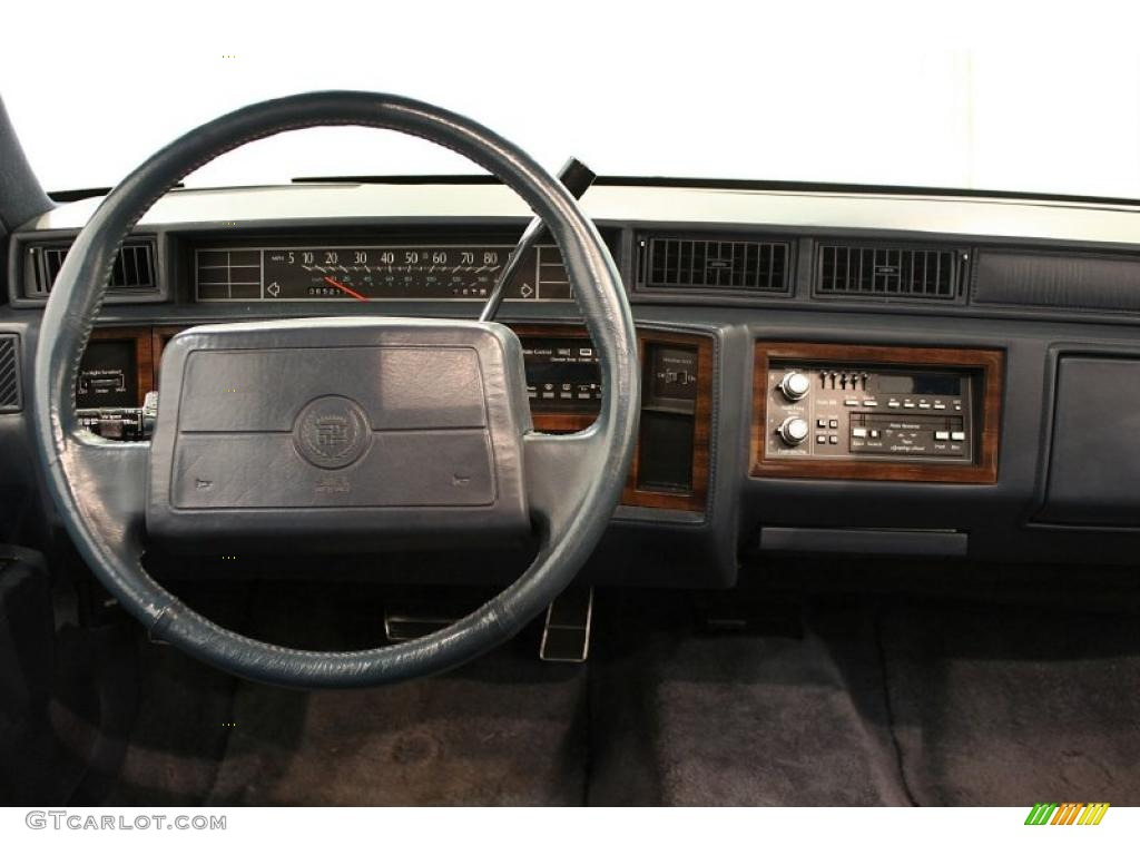 1993 Cadillac Deville Sedan Black Dashboard Photo