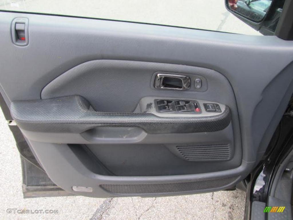 2003 Honda Pilot Ex L 4wd Gray Door Panel Photo 49480749 Gtcarlot Com