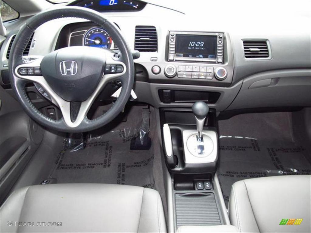 Gray Interior 2010 Honda Civic Ex L Sedan Photo 49489584