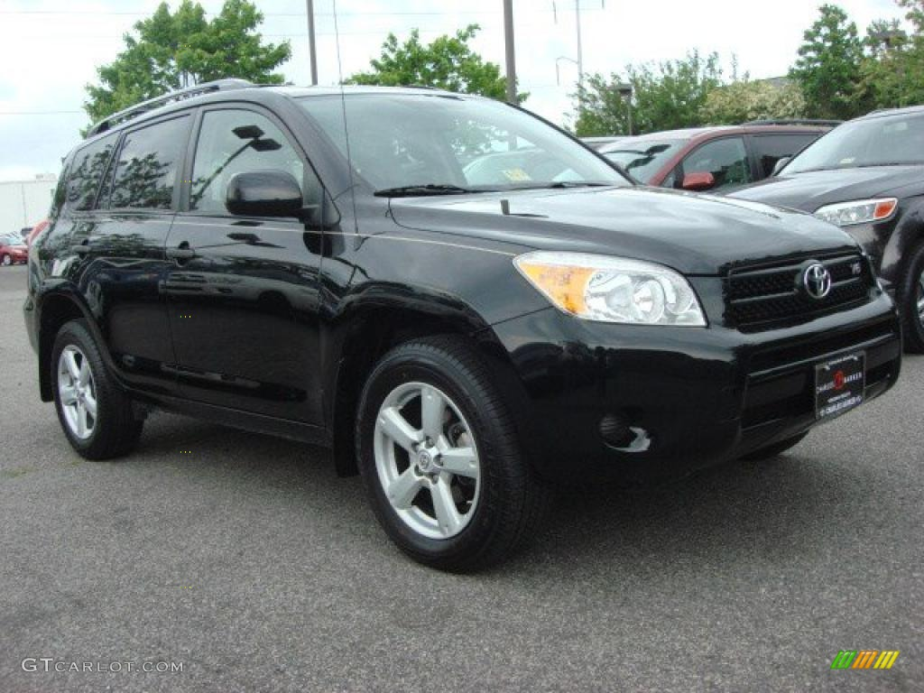 Black 2007 Toyota Rav4 V6 4wd Exterior Photo 49493712