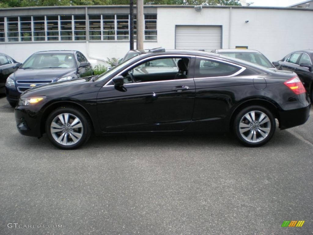 crystal black pearl 2010 honda accord ex l coupe exterior. Black Bedroom Furniture Sets. Home Design Ideas
