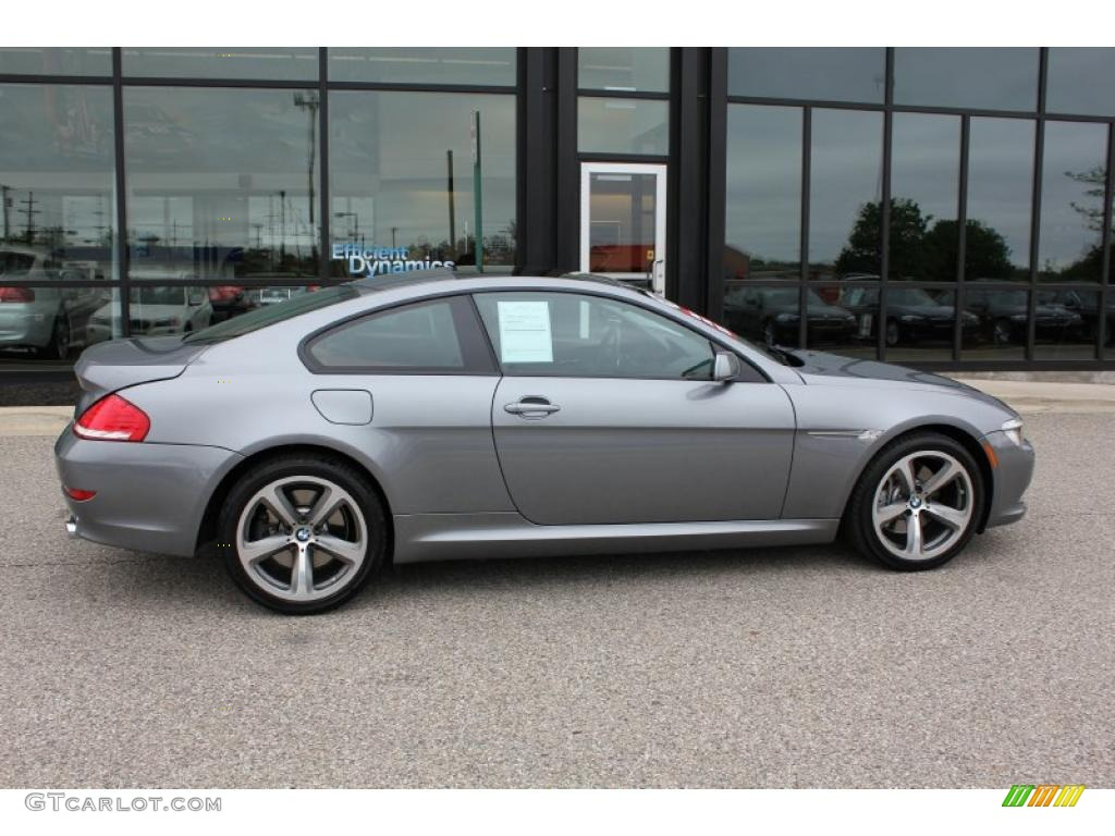 space grey metallic 2008 bmw 6 series 650i coupe exterior. Black Bedroom Furniture Sets. Home Design Ideas
