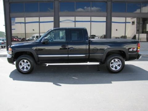 2004 gmc sierra 1500 slt extended cab 4x4 data info and. Black Bedroom Furniture Sets. Home Design Ideas